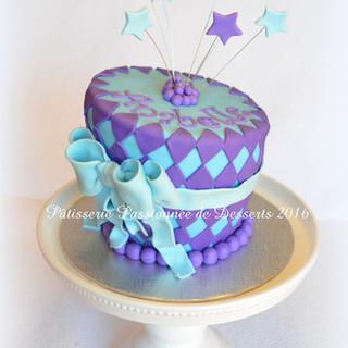 Gâteau asymétrique