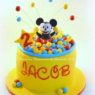 Gâteau Mickey Mouse