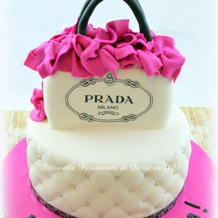 Gâteau Prada