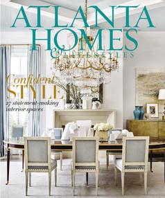 ATLANTA HOMES & LIFESTYLES - September 2016 - Southeastern Designer Showhouse Review