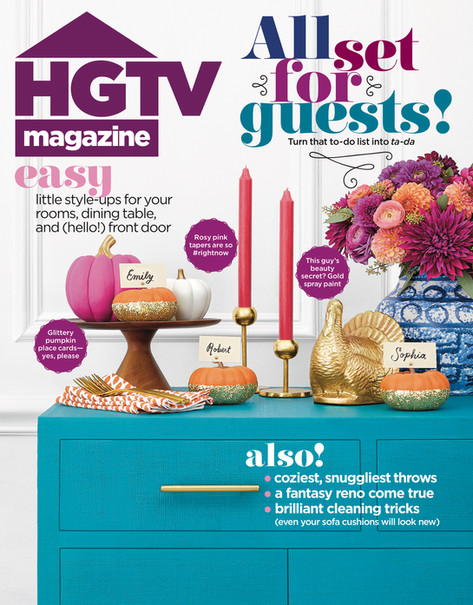 HGTV MAGAZINE - November 2019