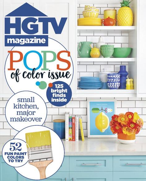 HGTV MAGAZINE - May 2017