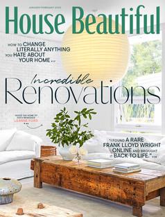 HOUSE BEAUTIFUL - Jan/Feb 2020