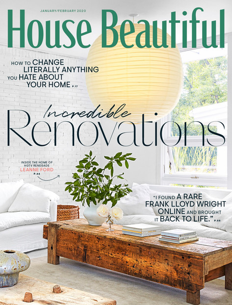 HOUSE BEAUTIFUL - Jan/Feb 2020