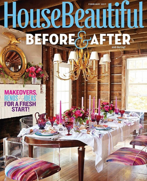 HOUSE BEAUTIFUL - February 2017 - Paint Color Contributer