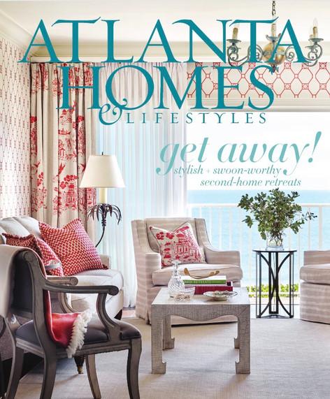 ATLANTA HOMES & LIFESTYLES - April 2017 - Southeastern Designer Showhouse Preview
