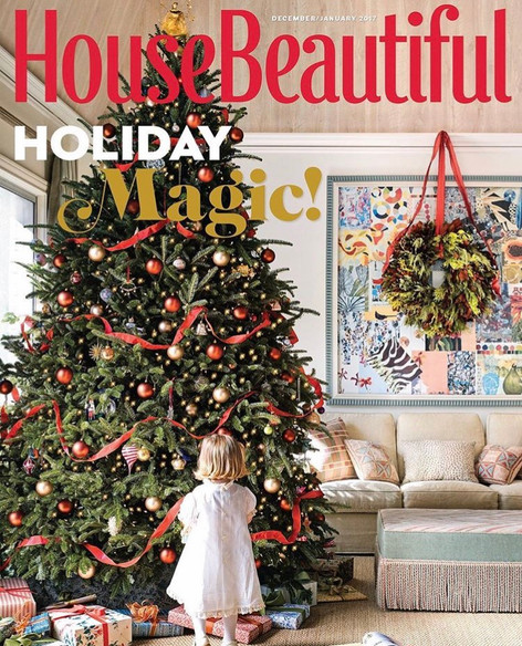HOUSE BEAUTIFUL - Dec/Jan 2016/2017 - Paint Color Contributer