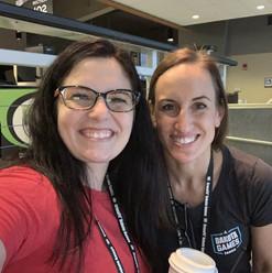 Dr. Amy & Julie at Dakota Games 2019
