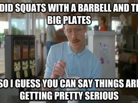 Back Squats!
