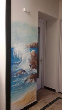 Spruzzo di mare