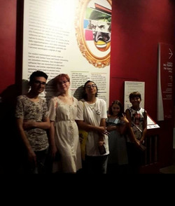 Visita al museo del cinema