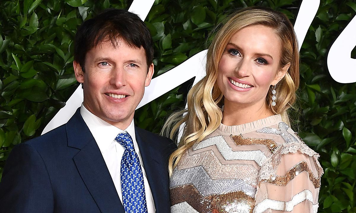 Sofia Wensley Blunt and James Blunt British Fashion Awards 19
