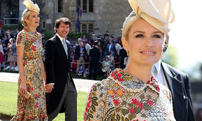 Sofia Blunt and James Blunt at William and Kate Royal wedding 18