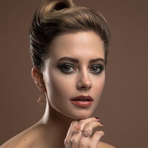 Photographer Mary Savvidou Model Zara Sparkles Hairstyle Toula Louise Makeup and nails Stefi Bazavan Mua Assistant photog. John Pierropoulos