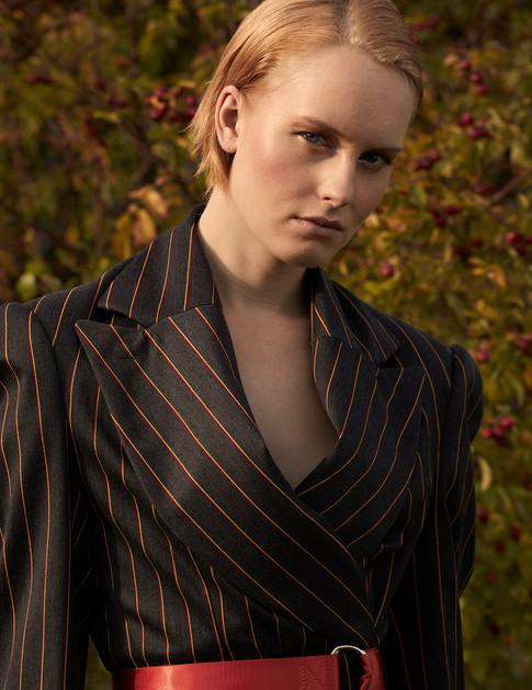 Photographer Conor Clarke Styling Holly Louise Model Rori  Grenet Hair Tula Louisse Mua Stefi Bazavan