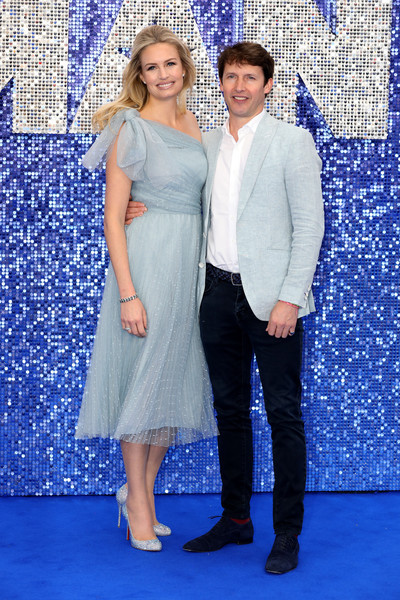 Sofia Wensley Blunt and James Blunt at premier of Elton John 'rocket man movie' 19