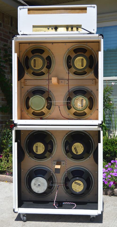 1971 Marshall model 1987 50w JMP w/ JCM 1960A&B