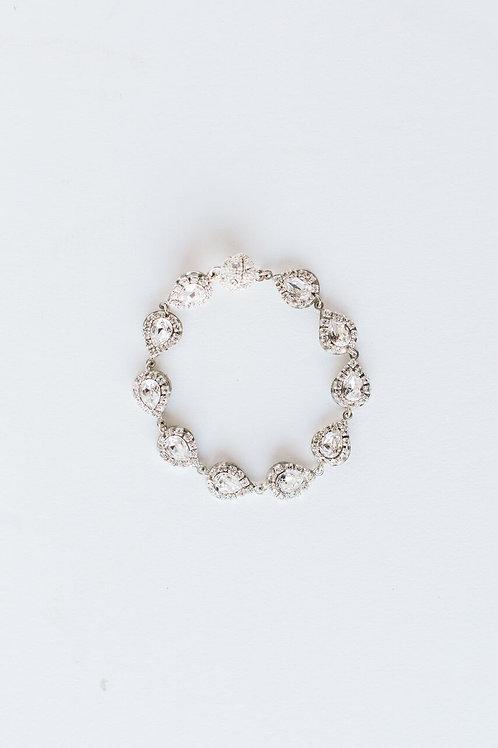 Silver Ray Bracelet