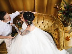 Inspiration: Funky Fall Alternative Wedding