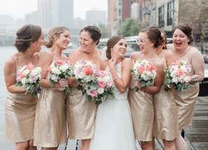 Real Wedding: Bridal Party Style