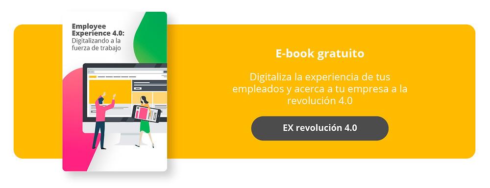E-book gratuito: Digitaliza la experiencia de tus empleados y acerca a tu empresa a la revolución 4.0