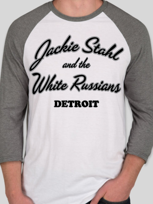 Jackie Stahl and The White Russians Baseball Jersey