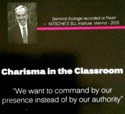 Charisma im Klassenzimmer