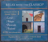 Kollektion I 4 CDs für das passive Konzert