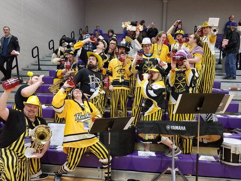Ashland, OH basketball band 2018