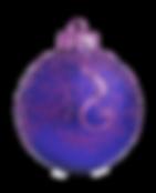 Púrpura y azul del ornamento