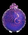 Purple and Blue Ornament