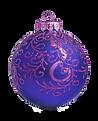Фиолетовый и синий орнамент