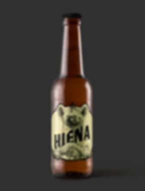 botellin cerveza hiena cerveza artesanal cañamo hiena