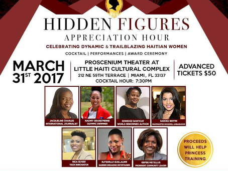 Hidden Figures Appreciation Hour