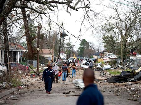 New Orleans Tornado Aid