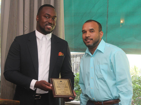 Induction to the Greater North Miami Chamber of Commerce