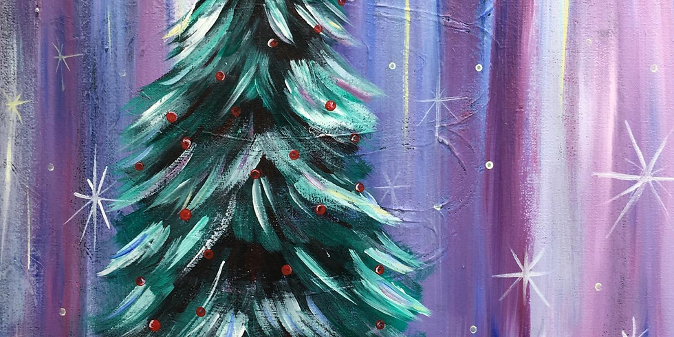 Adult Christmas Paint Night