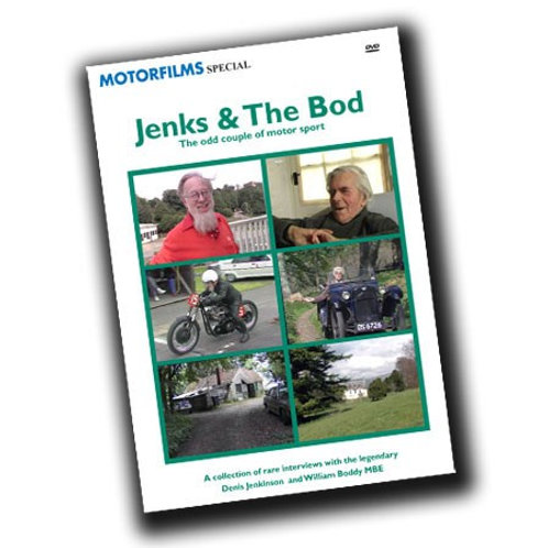 Jenks and the Bod: DWPDVD4008