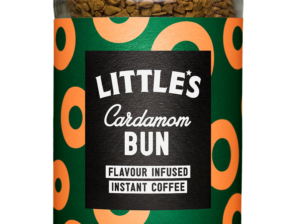 Cardamom Bun Flavour Infused Instant Coffee