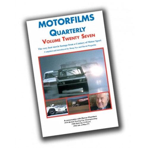 Motorfilms Quarterly Volume 27: DWPDVD3027