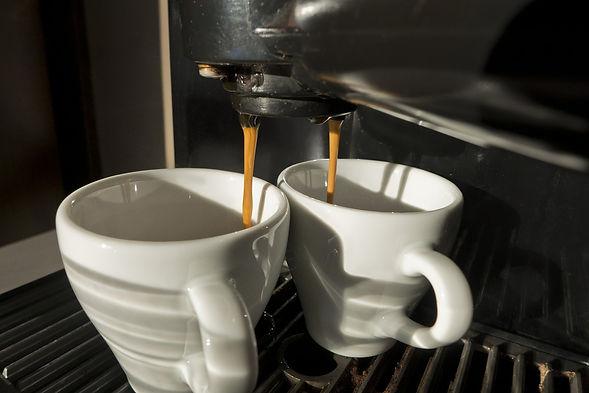 Coffee Machine Dripping Coffee