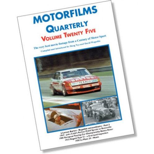 Motorfilms Quarterly Volume 25: DWPDVD3025