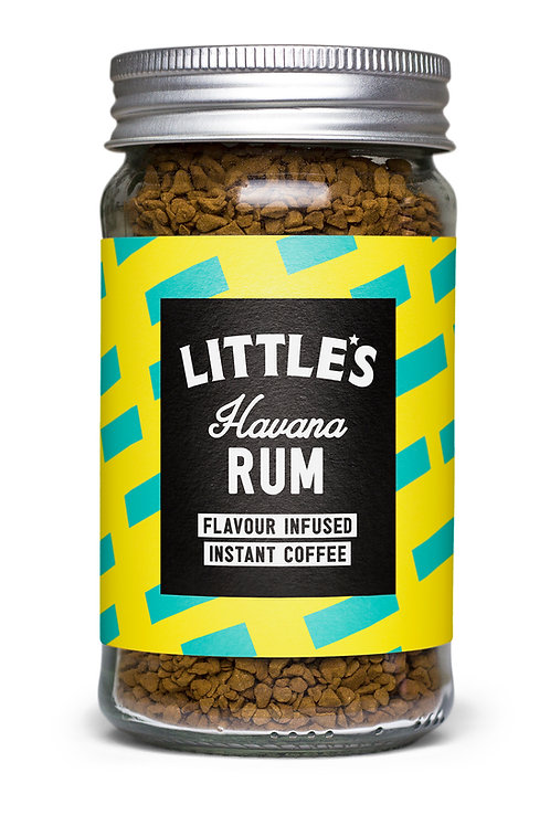 Rum Flavour Infused Instant Coffee