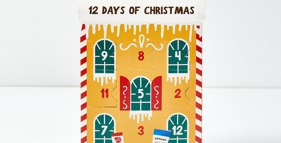 12 Days of Christmas Coffee Box   Reduced Now £5.00