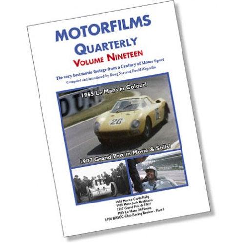 Motorfilms Quarterly Volume 19: DWPDVD3019