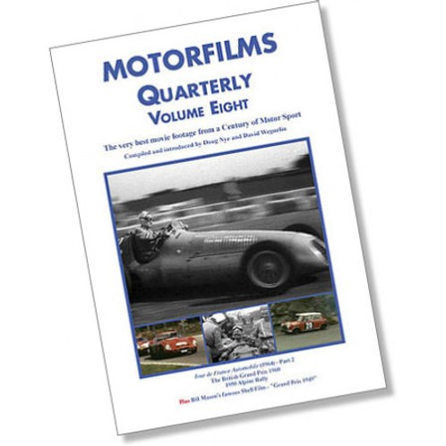 Motorfilms Quarterly Volume 8: DWPDVD3008
