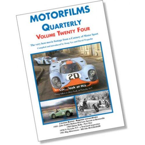 Motorfilms Quarterly Volume 24: DWPDVD3024
