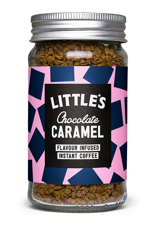 Chocolate Caramel Flavour Infused Instant Coffee