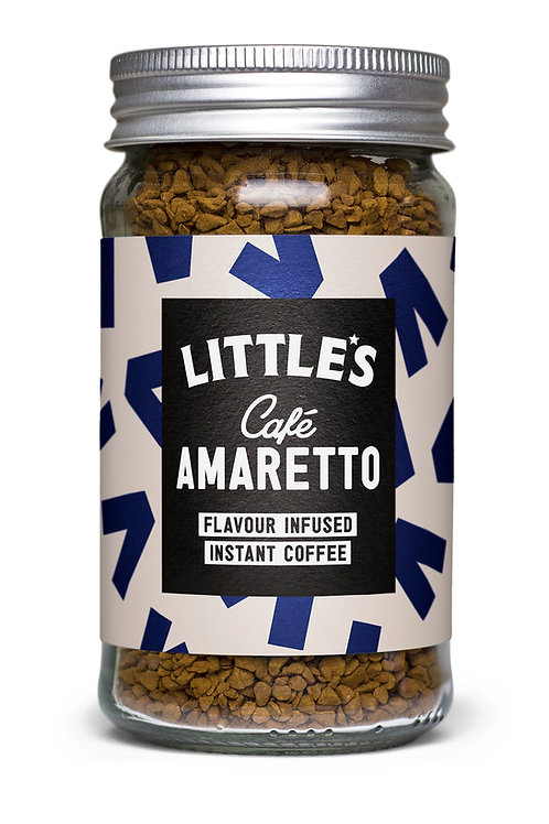 Café Amaretto Flavour Infused Instant Coffee