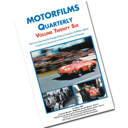 Motorfilms Quarterly Volume 26: DWPDVD3026